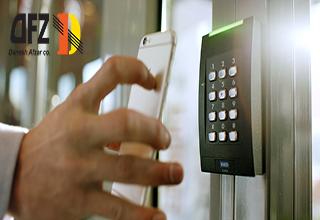 استفاده از گوشی های هوشمند به عنوان کلید برای کنترل دسترسی